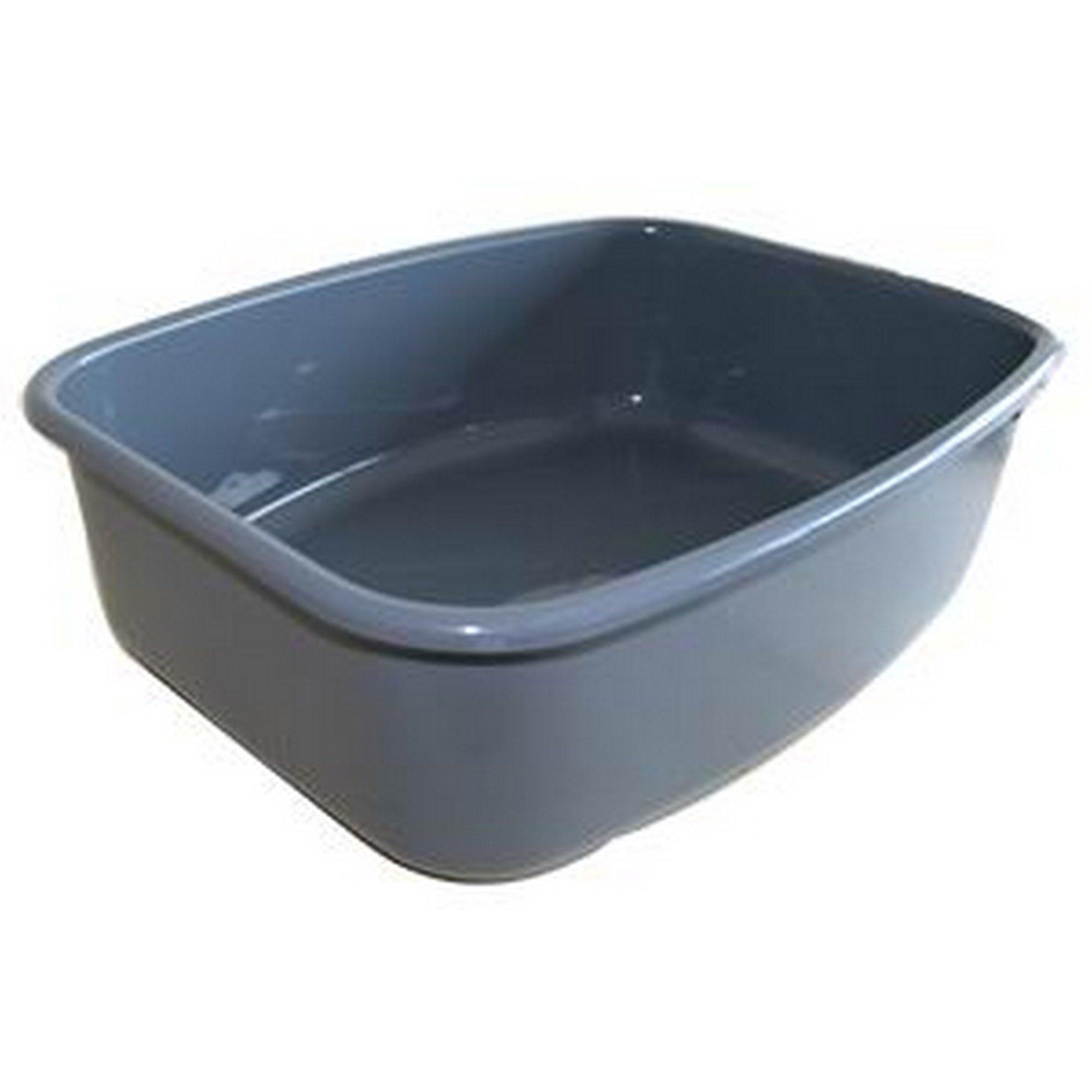 Spinflo Plastic Washing Up Bowl (One Size) (Grey)