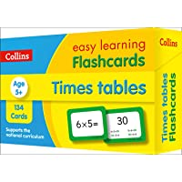 Times Tables Flashcards: Ideal for Home Learning