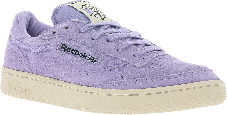 Reebok Club C 85 Pastels Mens Sneakers Purple