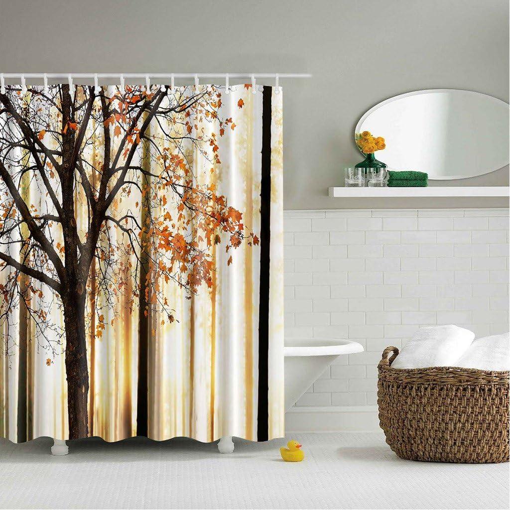 gwell Cortina de ducha de alta calidad, antimoho (Impresión ...