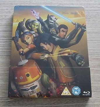 Amazon Com Star Wars Rebels Season 1 Steelbook Region Free Movies Tv