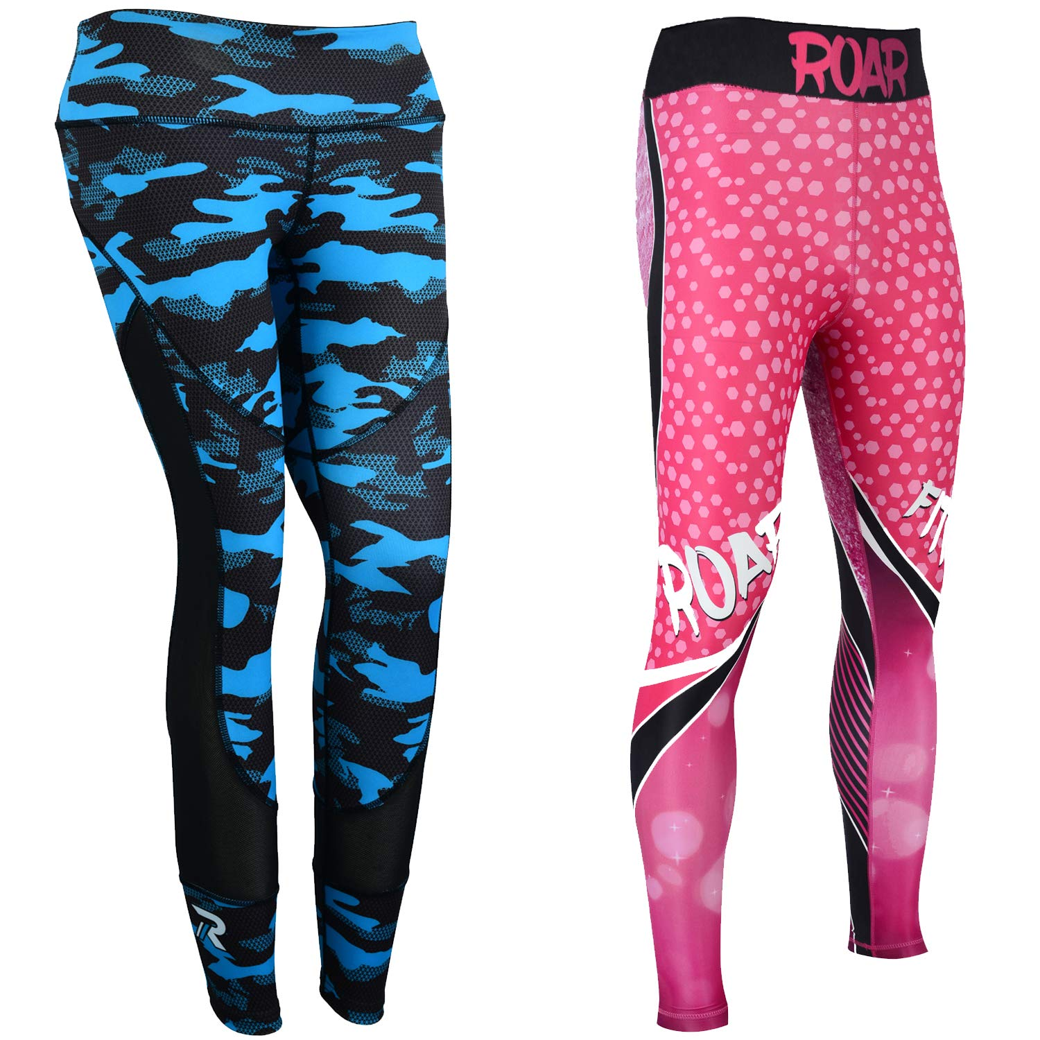 Roar No Gi Full Set Ladies Sports Bra BJJ Leggings MMA Shorts & Grappling Rash Guard Female Fight Wear (Only for Ladies Now New Sizing Updated) by ROAR-INT