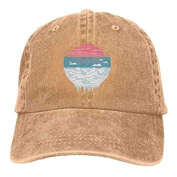 Xdevrbk The Great Thaw Unisex Washed Fashion Cowboy Hat Denim ...