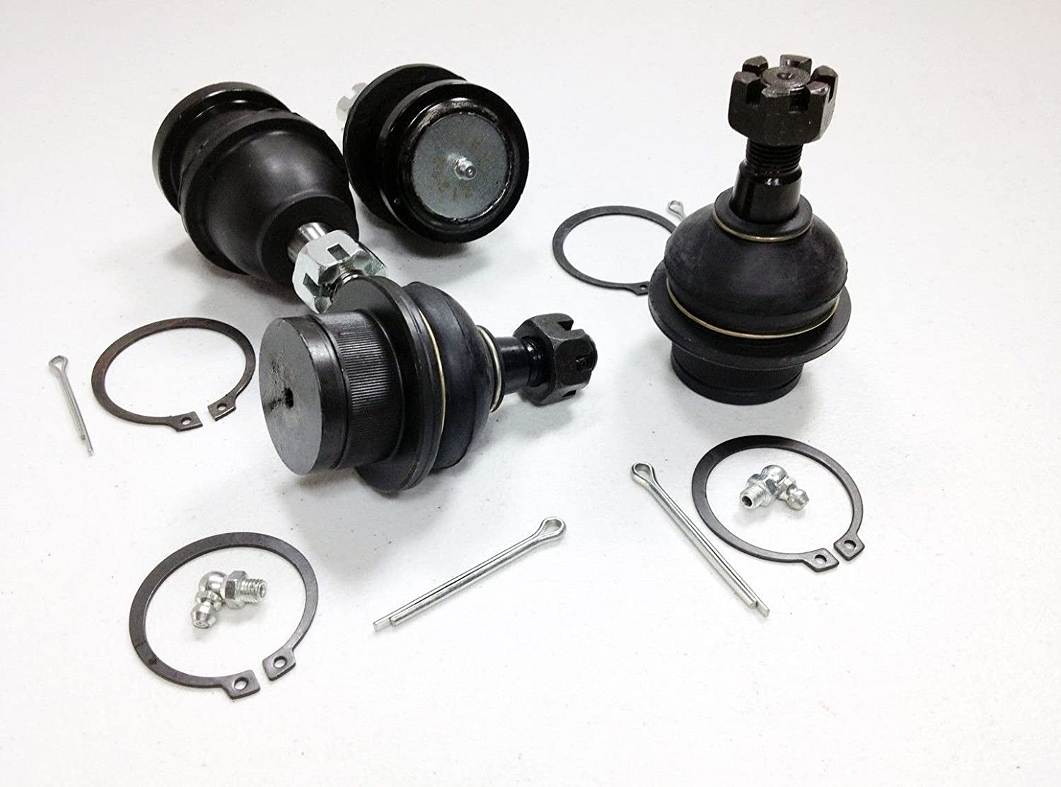 PartsW 4 Piece Kit Front Upper /& Lower Ball Joints 2WD//4WD