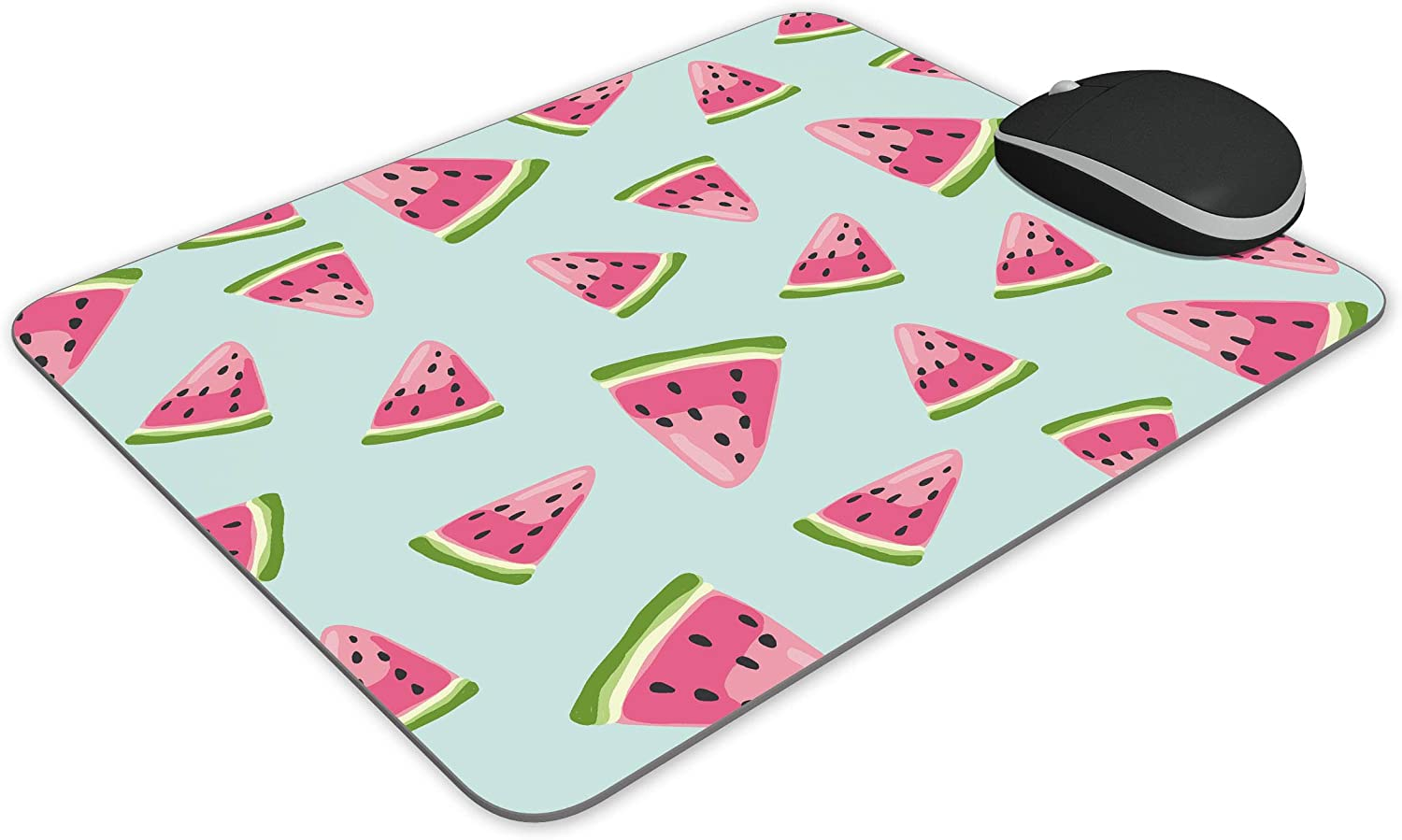 Watermelon vector pattern Mouse pad Mousepad Nonslip Rubber Backing