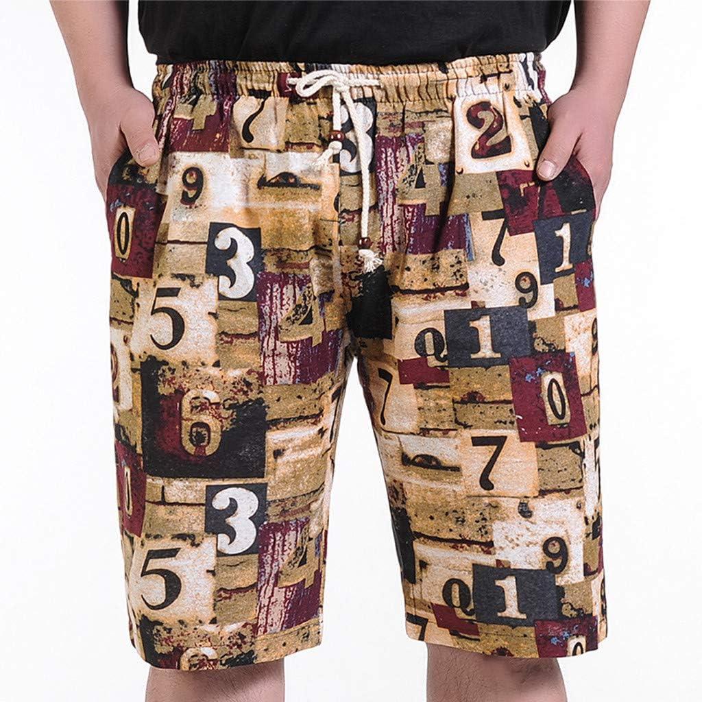 Sports Pants Gym Cargo Beach Shorts Fashion Men Casual Star Printed Beach Casual Men Short Trouser Shorts Pants