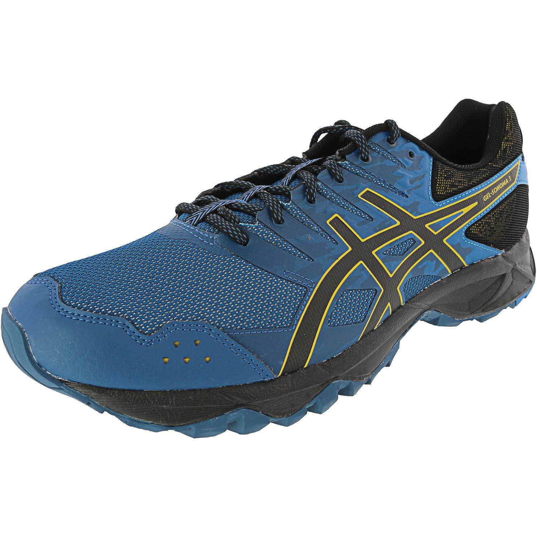 Ink bleu noir Lemon Curry 43.5 EU ASICS - Chaussures Gel-Sonoma 3 pour Homme