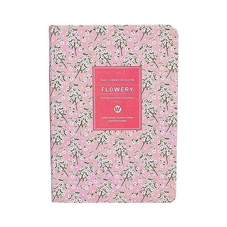 Piel sintética Floral calendario agenda semanal planificador ...