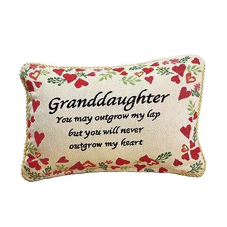 Amazon.com: Nunca outgrow My Heart nieta almohada ...