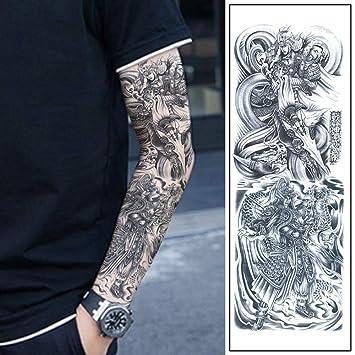 Tatuaje Zhao Yunzilong Tatuaje Completo Brazo Pegatinas ...