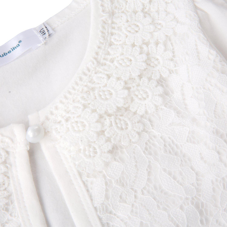Acecharming Girls Long Sleeve Bolero Cardigan Shrug Beaded Flower Jacket Shrug Short Cardigan Dress Cover Up