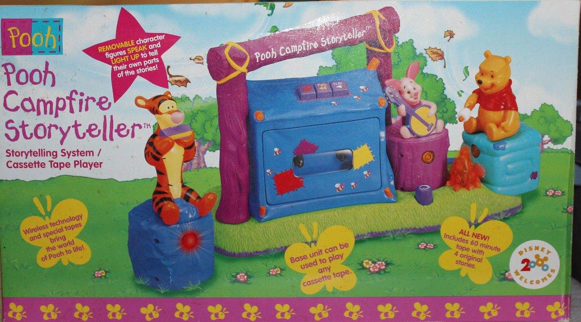 Disney Winnie the Pooh Campfire Storyteller Interactive Cassette Player