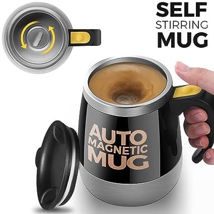 Amazon [Upgrade]Self Stirring Coffee Mug Upintek Magnetic