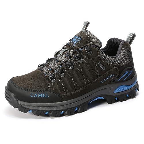 CAMEL CROWN Stivali da Escursionismo Uomo Scarpe da Escursionismo Low-Top  Scarpe da Arrampicata Professionali 83059b4bf36