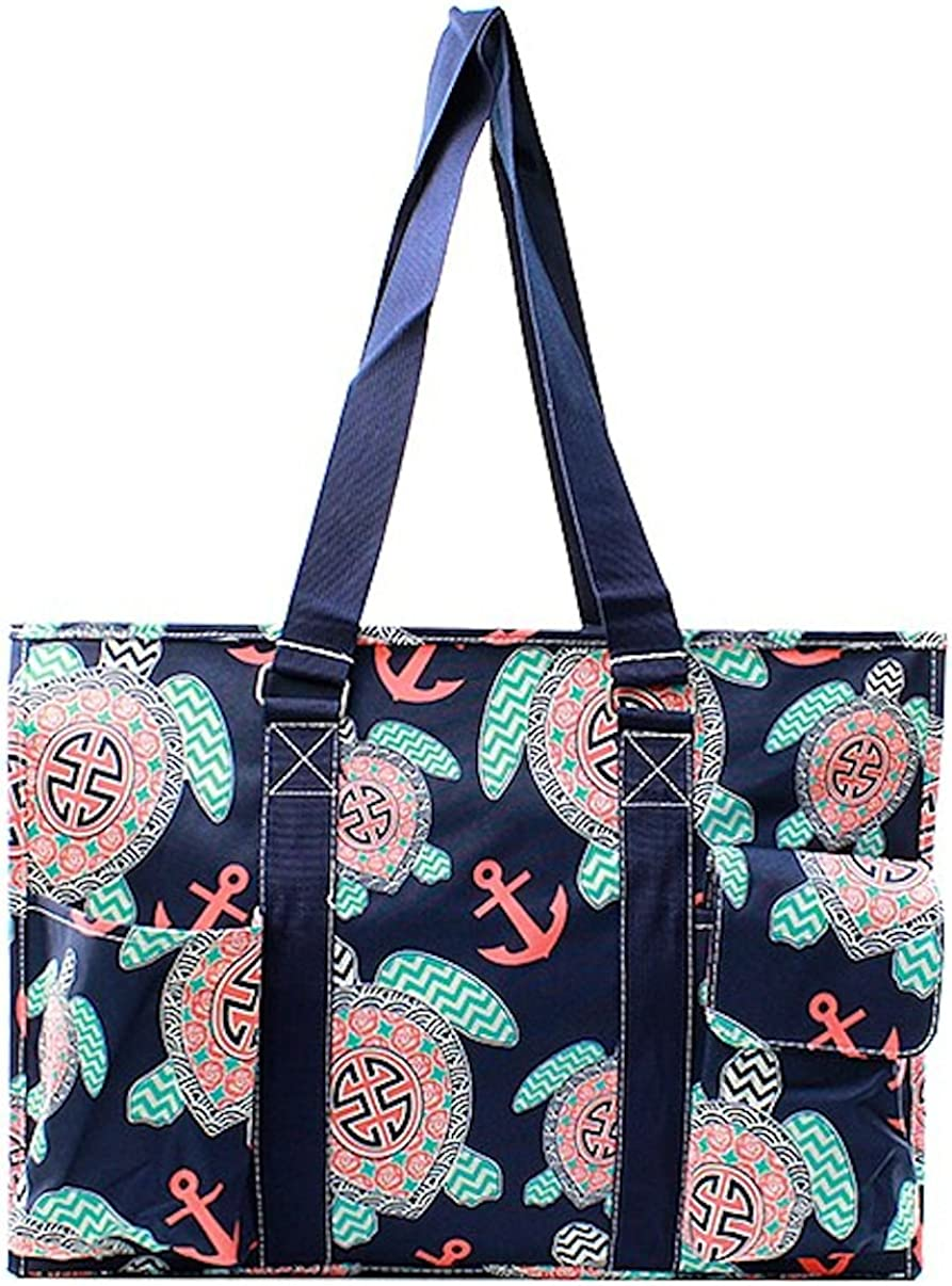 Sport Themed Prints NGIL Large Travel Caddy Organizer Tote Bag