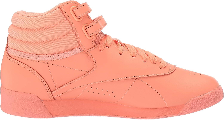 Reebok Freestyle Hi, Tennis Femme Stellar Pink White