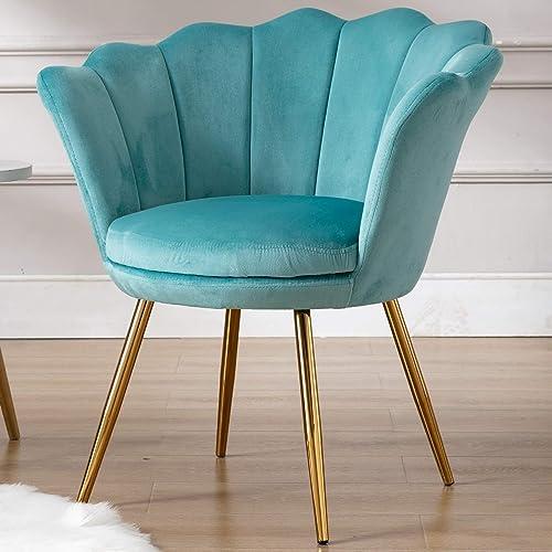 Velvet Upholstered Living Room Chair