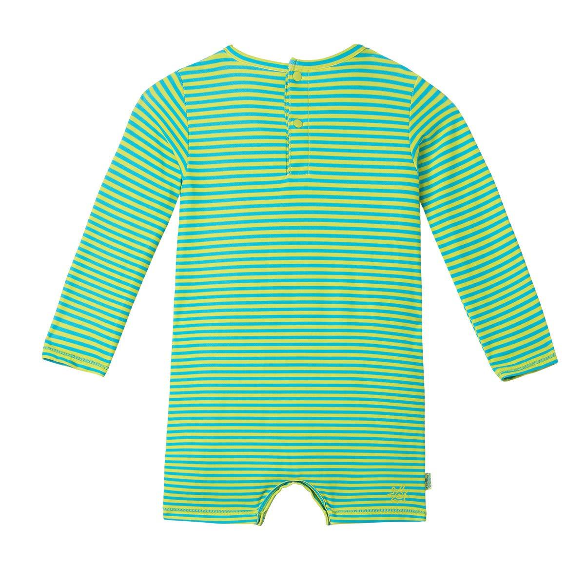 Baby Boys UV Sunzie Lime Punch Gator UV SKINZ UPF 50 6//12 Months