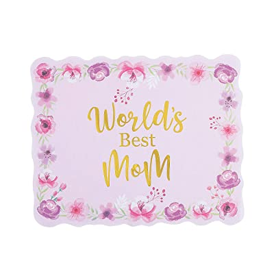 Mothers Day Paper Placemat - Party Supplies - 25 Pieces: Toys & Games