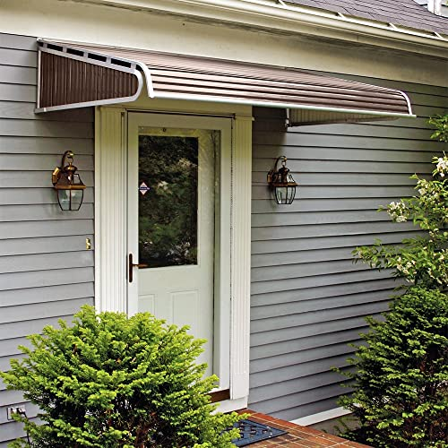 NuImage Awnings 1500 Series Aluminum Door Canopy with Sidewings