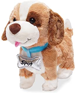 Cuddle Barn Talks Walks Plush Toy 10 Inches Dog My Favorite Pet Spot