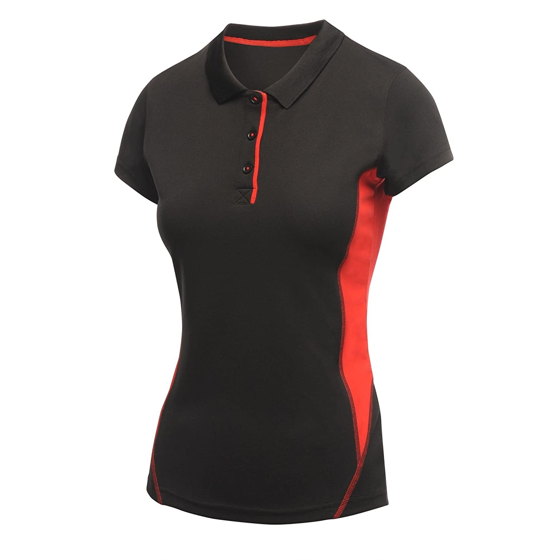 Regatta Activewear Womens//Ladies Salt Lake Lightweight Short Sleeve Polo Shirt