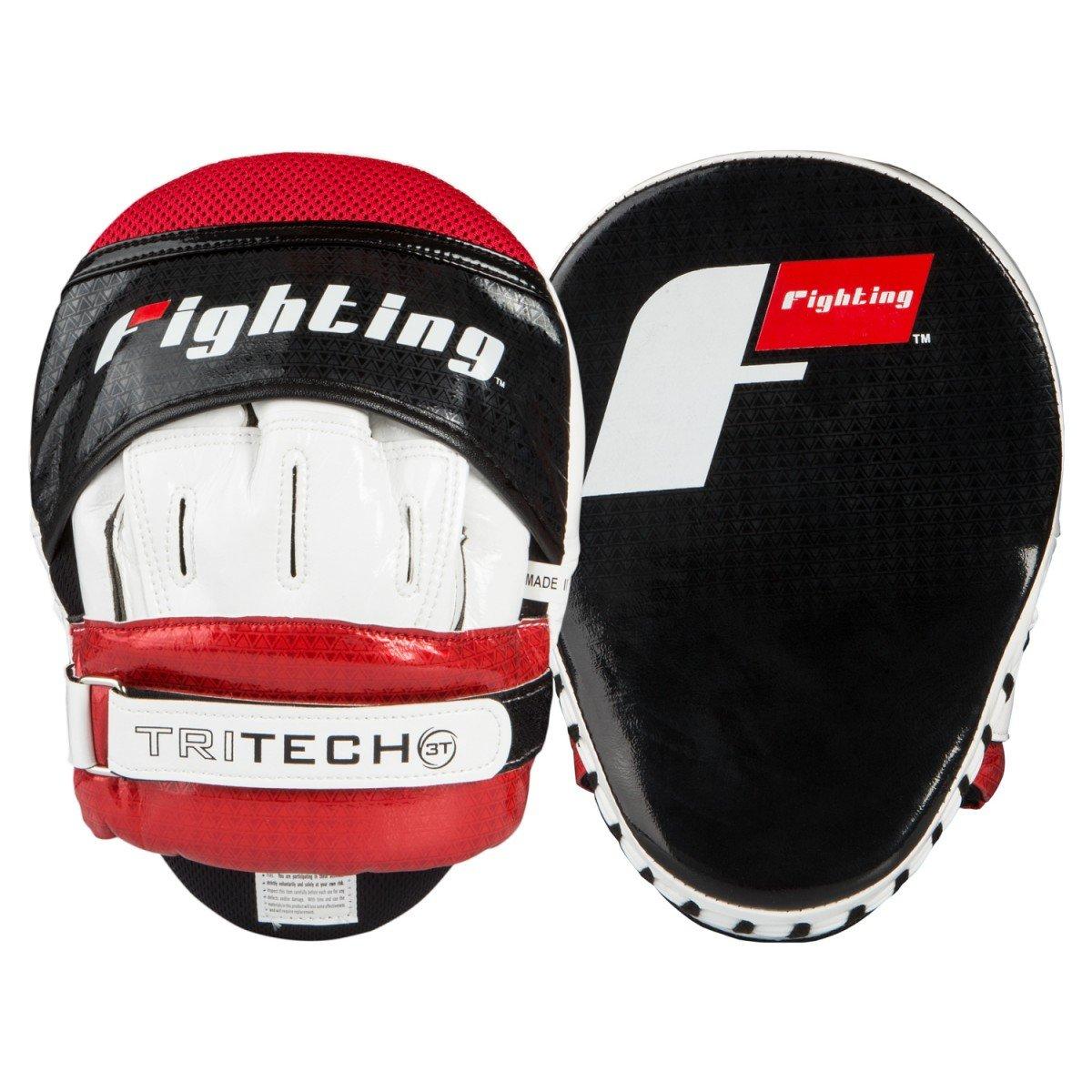 【全商品オープニング価格 特別価格】 Fighting Sports tri-tech tri-tech Fascinate Sports Punch Mitts Fascinate ブラック/ホワイト/レッド B06XGJV5JL, 機械工具と部品の店 ルートワン:8e875620 --- a0267596.xsph.ru