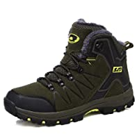 tqgold Chaussures de Randonnée Homme Femme Bottes de Marche Imperméable Mountain Montantes