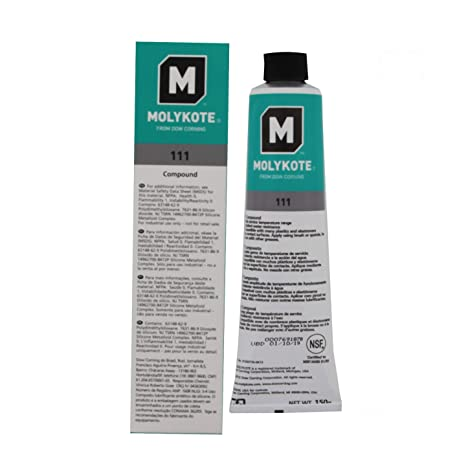 Dow Corning Molykote 111 Compound 5 3oz (150grams)