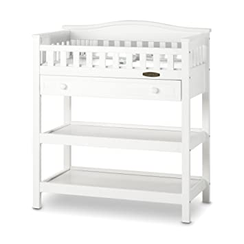 Child Craft Watterson Dressing Table With Drawer Matte White