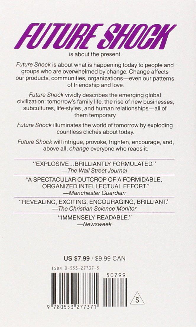 Future Shock By Alvin Toffler Pdf