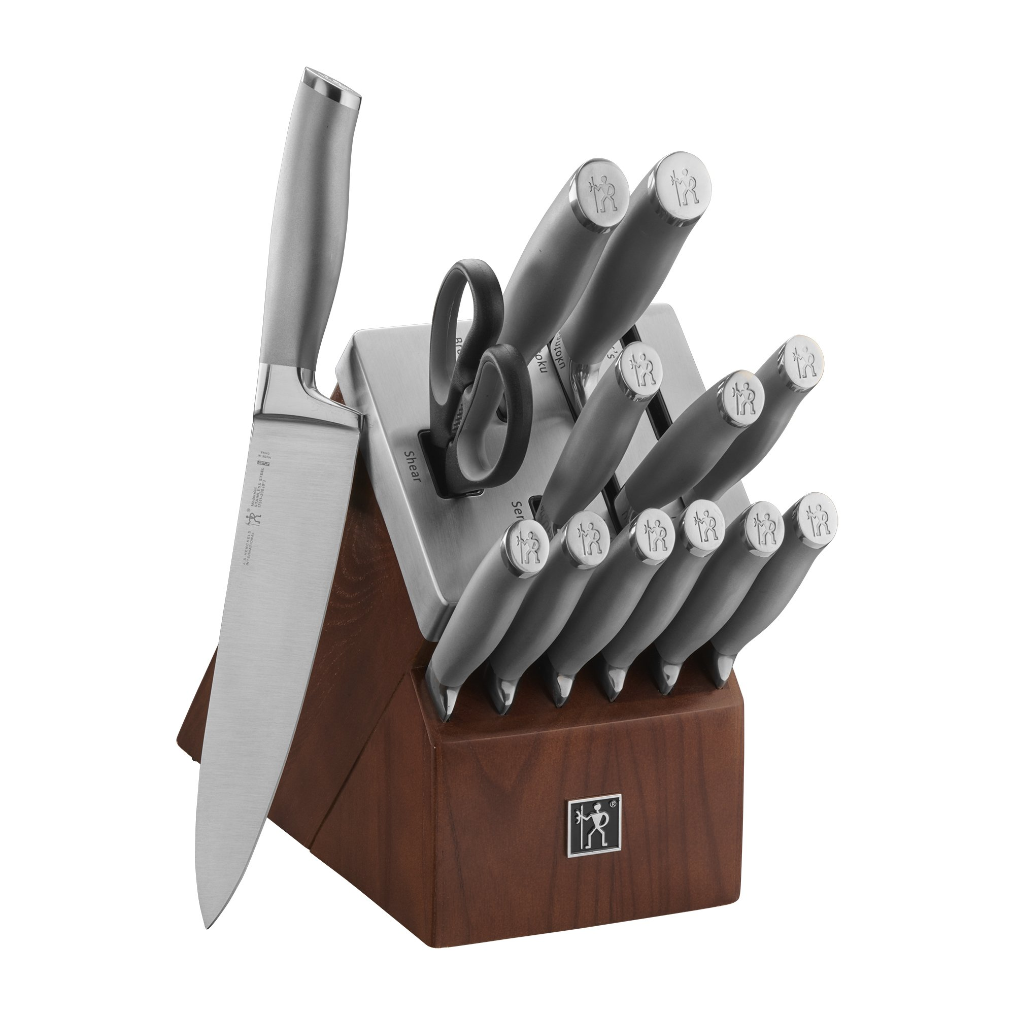 J.A. Henckels International Modernist 14-pc Self-Sharpening Block Set by ZWILLING J.A. Henckels