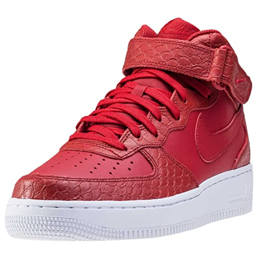 nike air force 1 '07 lv8 mid trainers in white