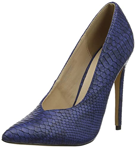 6f7db9a7c019 Lost Ink Women's Chase Closed Toe Heels: Amazon.co.uk: Shoes & Bags