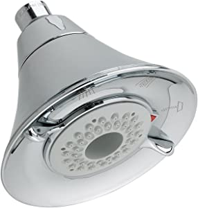 American Standard 1660717.002 FloWise Transitional 3-Function Water Saving Shower, Polished Chrome