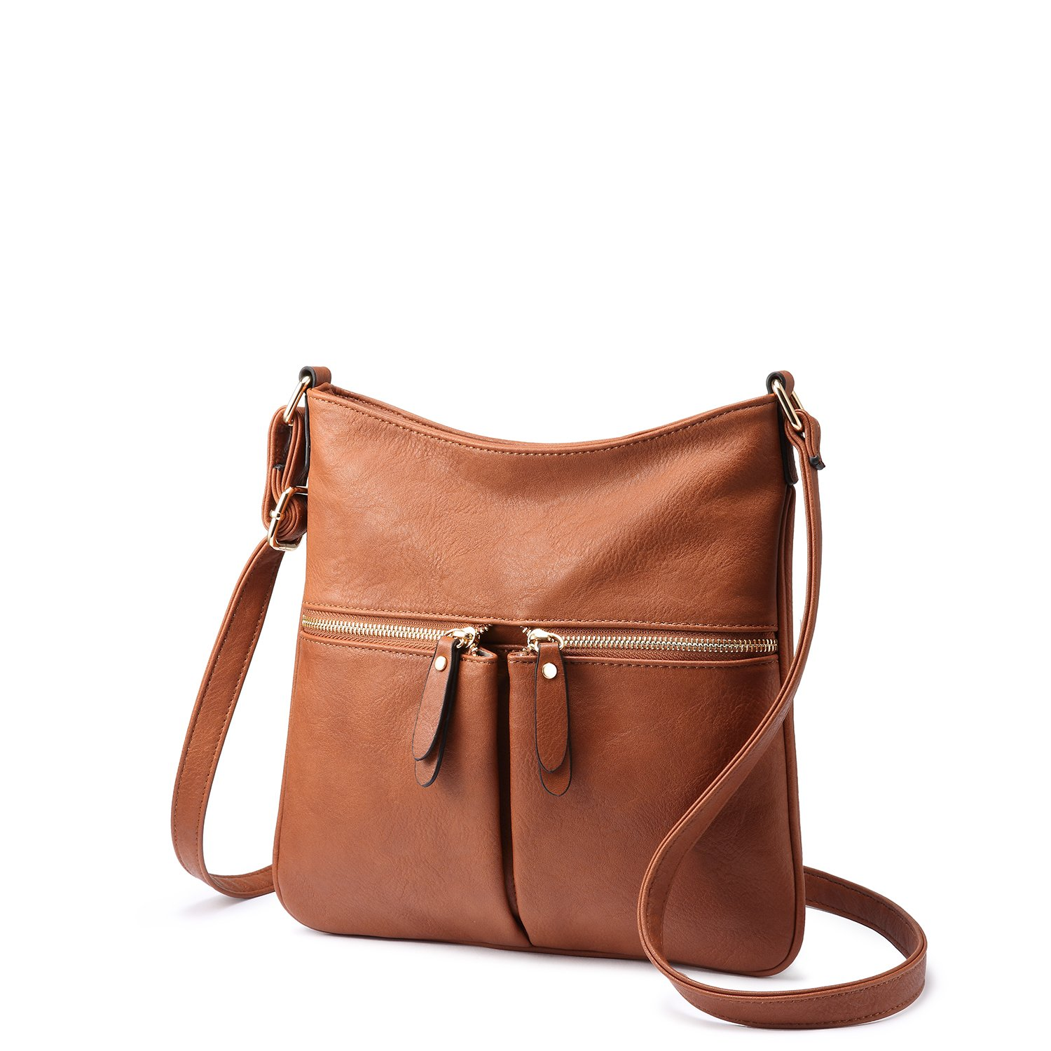 ea4733a2279e Crossbody Bags for Women Shoulder Bag Faux Leather Ladies Bag with  Adjustable Long Strap