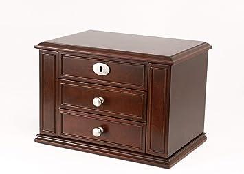Zhongsufei coffret à bijoux boîte en bois créative latérale de