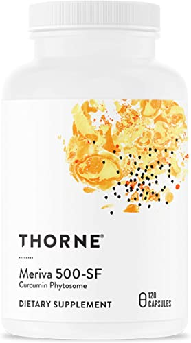 Thorne Research - Meriva 500-SF Soy Free - Curcumin Phytosome Supplement - 120 Capsules