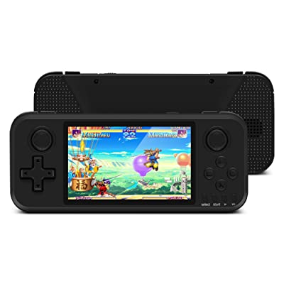 Handheld Game Console, Built-in 2000 Games, Supporting 4 Players and TV Connection, 4 Inch Portable Classic Retro Games Console, Q400: Kitchen & Dining [5Bkhe0506560]