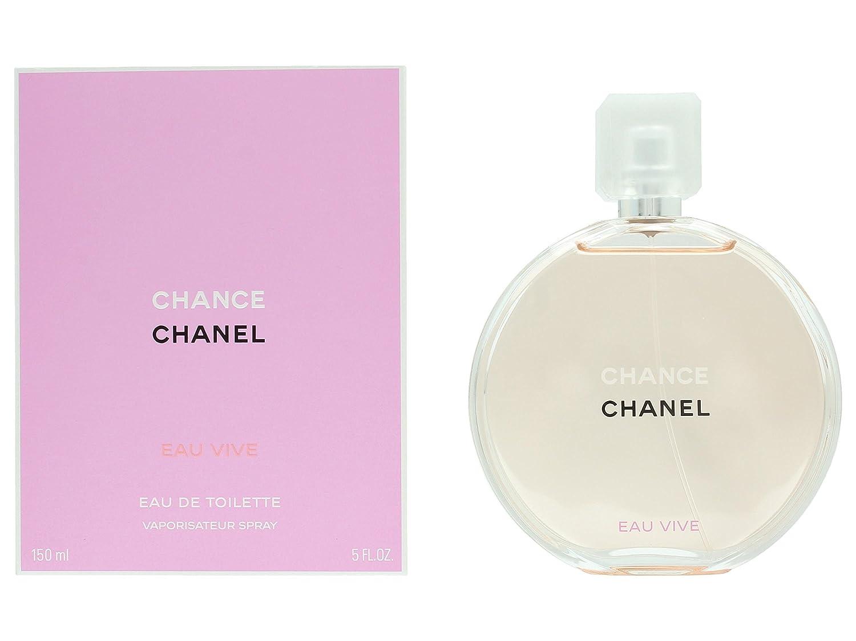 Amazoncom Chance Eau Vive By Chanel Eau De Toilette Spray 5 Oz