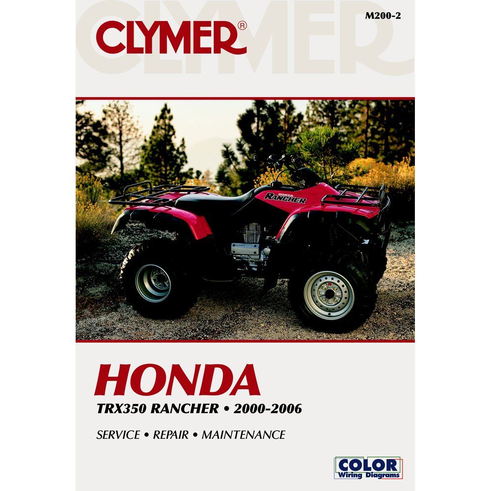2000 honda rancher 350 wiring diagram 2000 image amazon com clymer honda trx350 rancher 2000 2006 automotive on 2000 honda rancher 350 wiring diagram