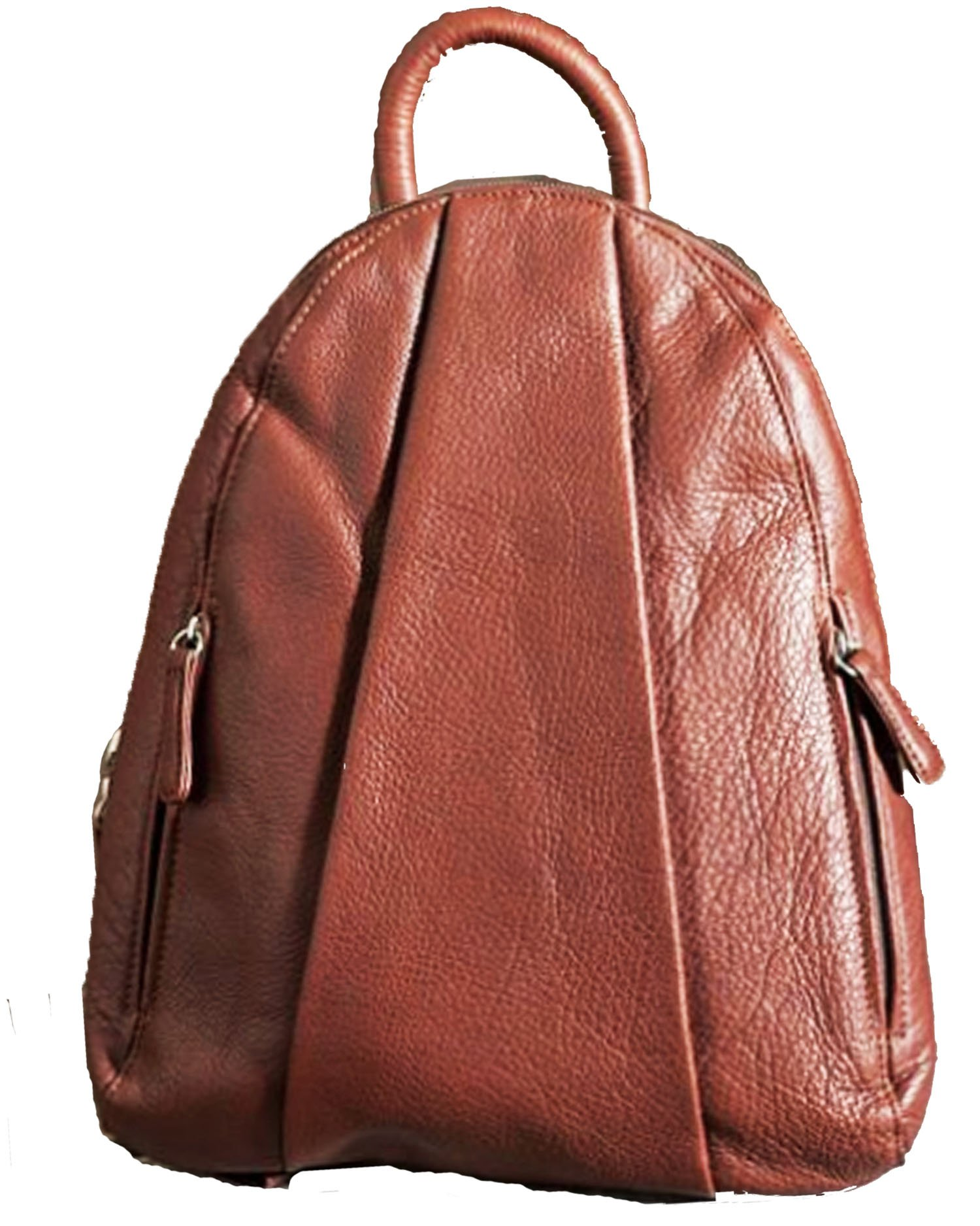Women's Osgoode Marley Teardrop Leather Backpack Handbag,1 Size,BRANDY