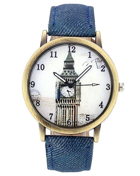 Reloj mujer color bronce