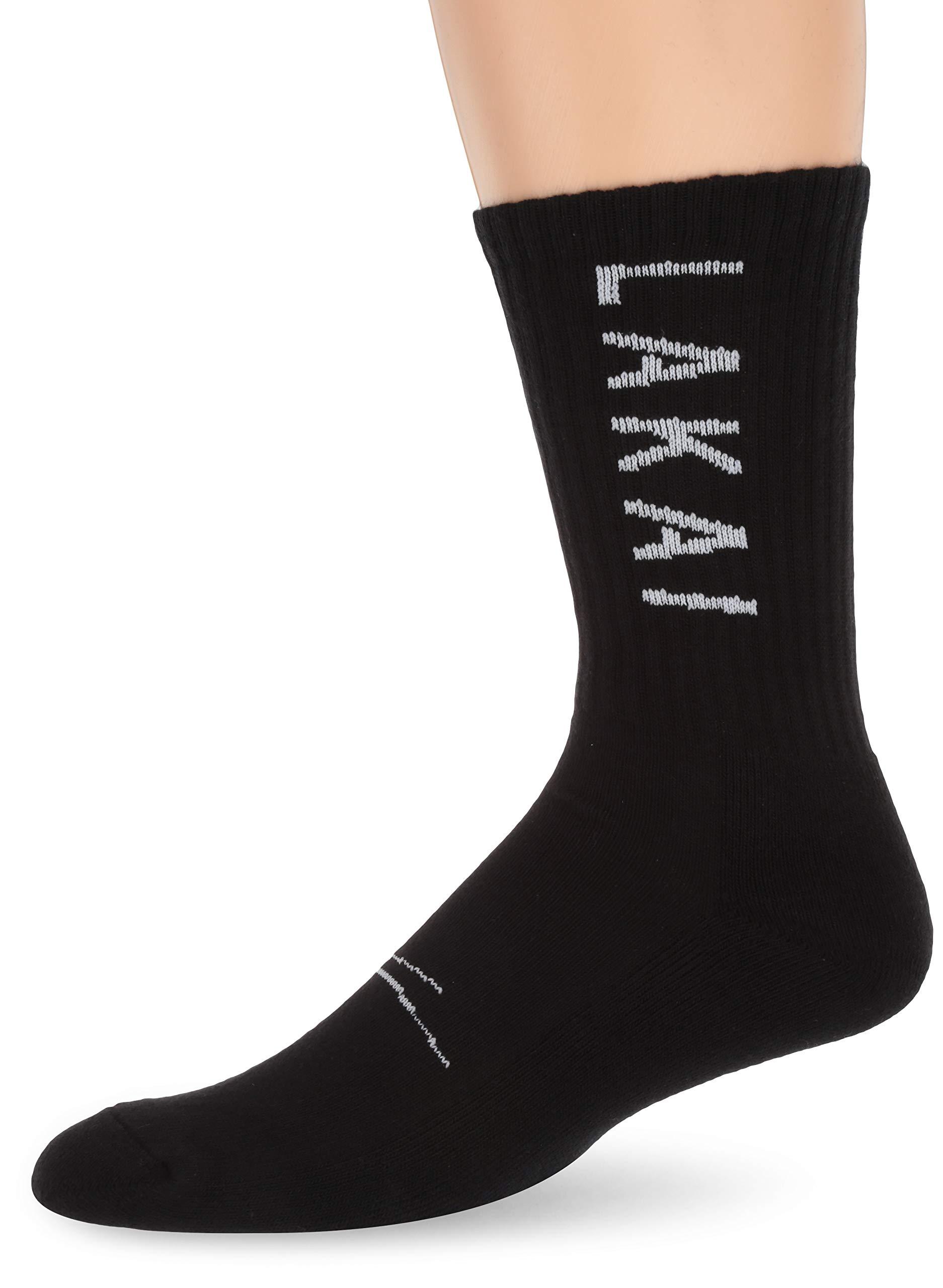 Lakai Unisex-Adult's Simple Crew Sock Black Size NS