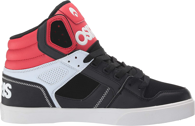 Osiris Men's Clone Skate Shoe Red/White