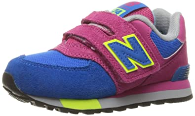 New Balance Unisex-Kinder Kv574cki M Hook and Loop Sneakers Teal White -  associate-degree.de 7de21ab304