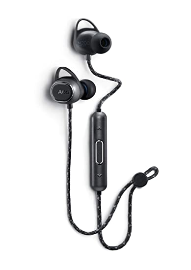 f583090867f Amazon.com: AKG N200 Wireless Bluetooth Earbuds - Black (US Version): Cell  Phones & Accessories