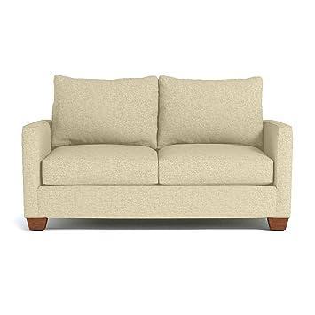 Awesome Amazon Com Apt2B Tuxedo Apartment Size Sofa Bisque 61 X Customarchery Wood Chair Design Ideas Customarcherynet