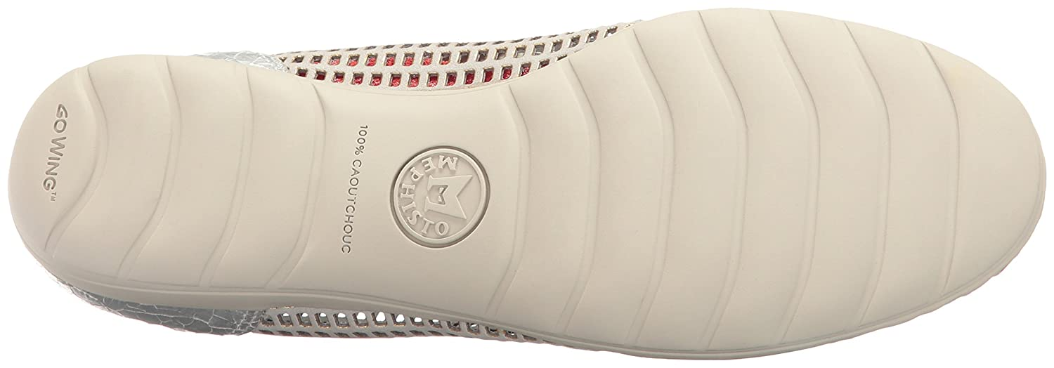 Mephisto Women's Evelyne Flat B01LAFP60W 7 B(M) US|Cloud Window/Silver Ice