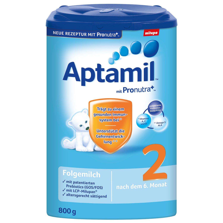 Aptamil 2, Nutricia Pronutra +, 1x800G Milupa GmbH 602233